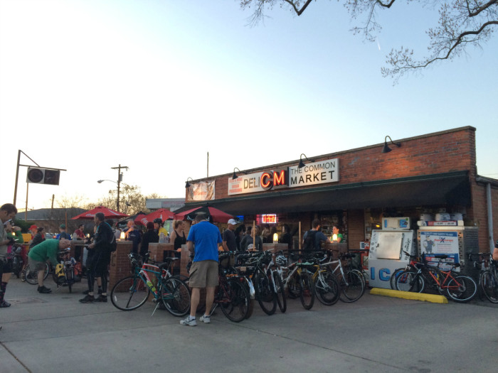 Cancel the plans you don't have on Tuesday and go on the Plaza Midwood Tuesday Night Ride