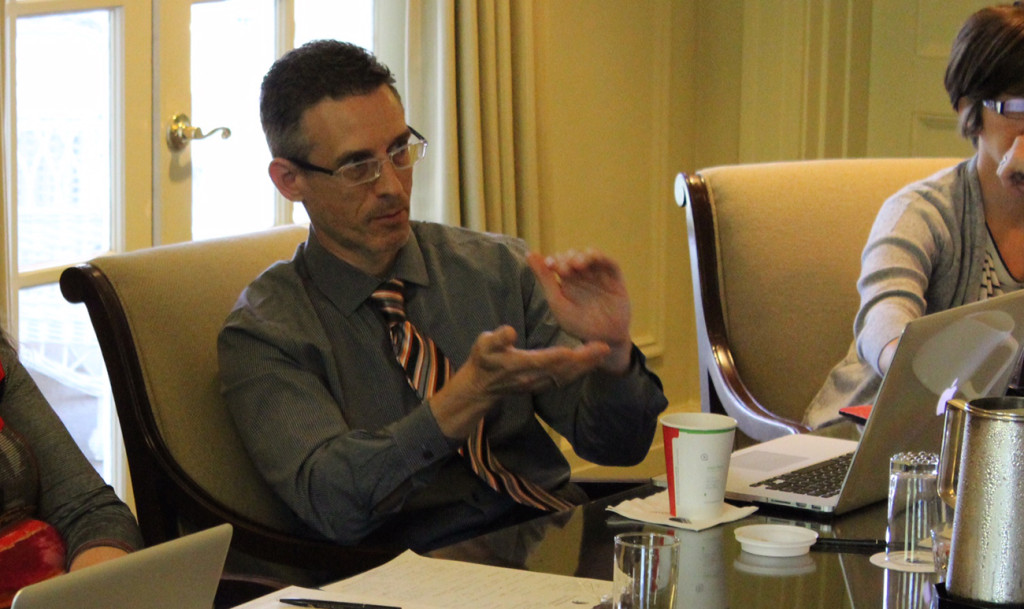 Work life of Eric Freedman, Dean of the James L. Knight School of Communication