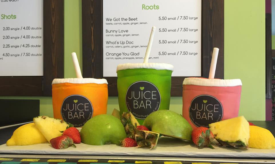 What's the location of Myers Park's new Juice Bar?