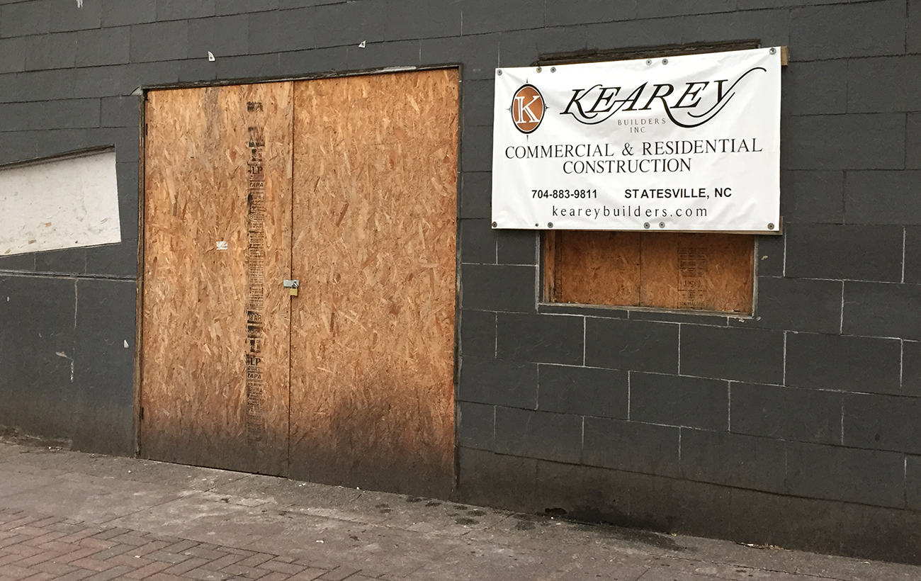 Boarded up spot in-between RiRa and Sip/Prohibition will become 204 North