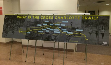The Cross Charlotte Trail: A 26-mile greenway from Pineville to Cabarrus County is under way