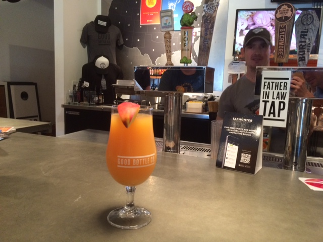 beermosa at good bottle co charlotte