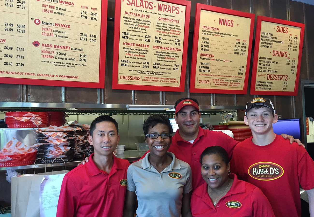 Hubee D's in Myers Park is made to order