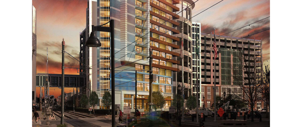 SpringHill Suites coming to Uptown in a fancy new 15-story building