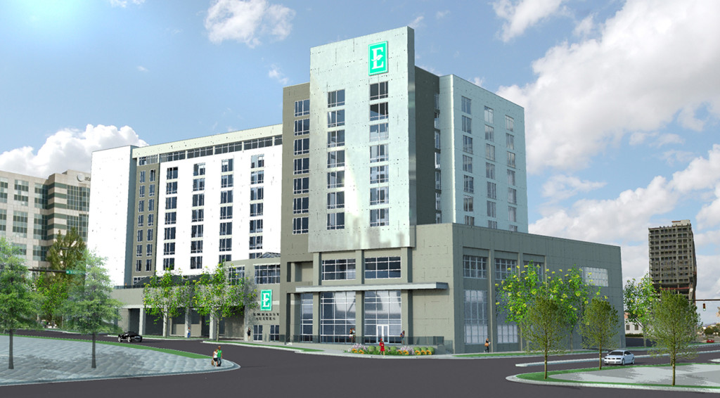 EXCLUSIVE:  First new hotel to hit the block Uptown; Embassy Suites is ready to make its mark.