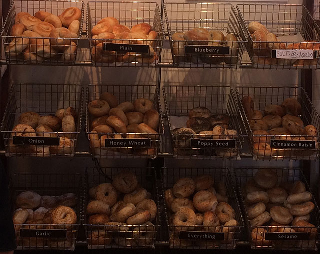 types-of-bagels-at-poppy's-charlotte