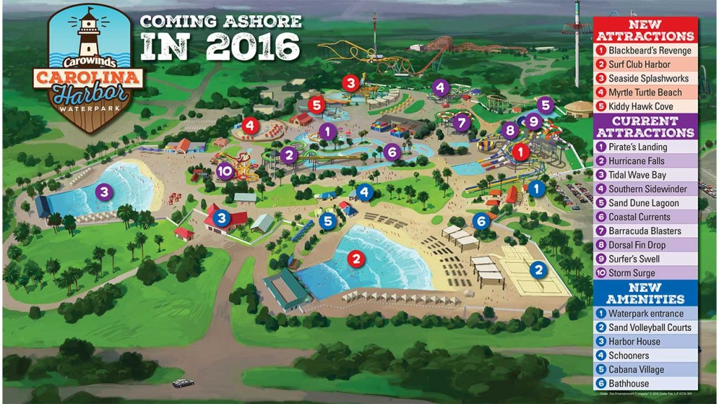 Here are the plans for the largest water park in the Carolinas (view 9 renderings)