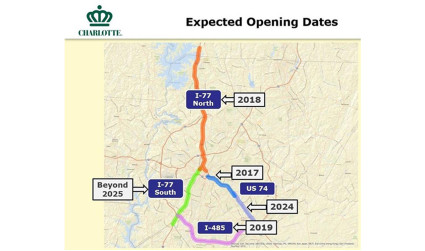 10 things you don't know about the toll lanes planned for I-77 north