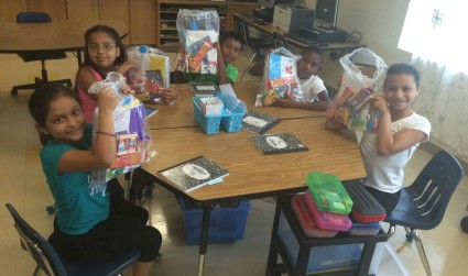 Belk and Classroom Central deliver supplies to students in high-need schools