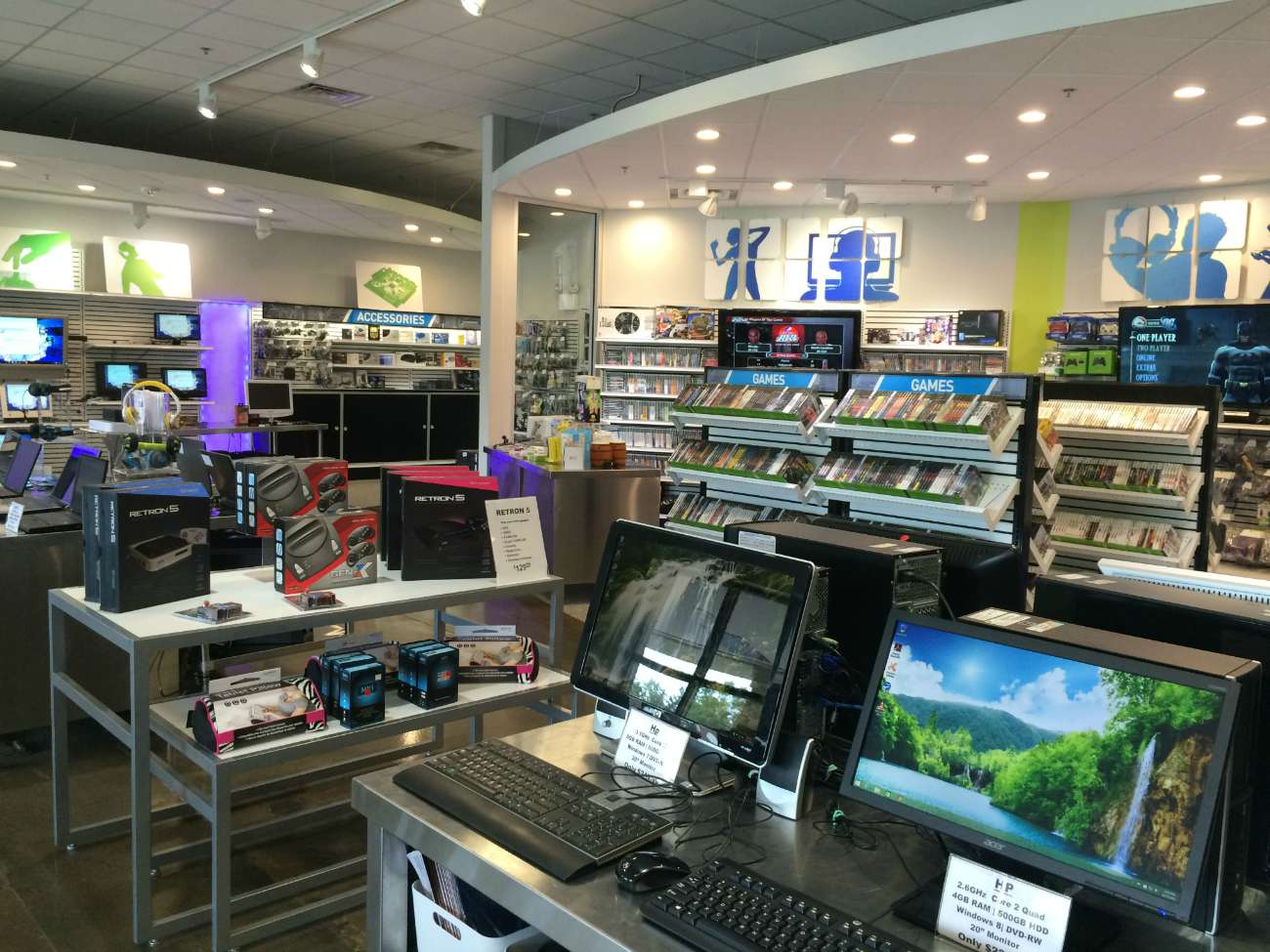 Are you aware Goodwill runs an electronics store called The Grid?
