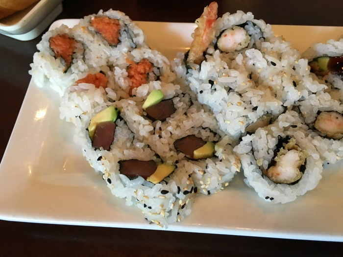 pisces all you can eat lunch sushi charlotte