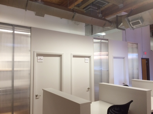 offices at industry coworking
