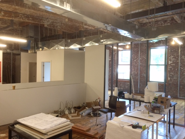 construction at industry coworking