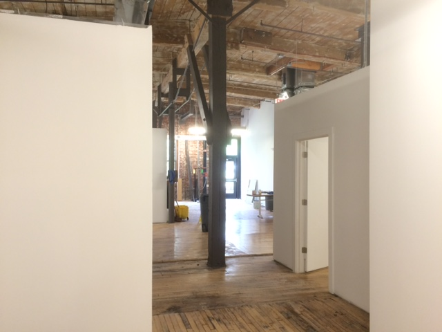 industry coworking expansion hallway