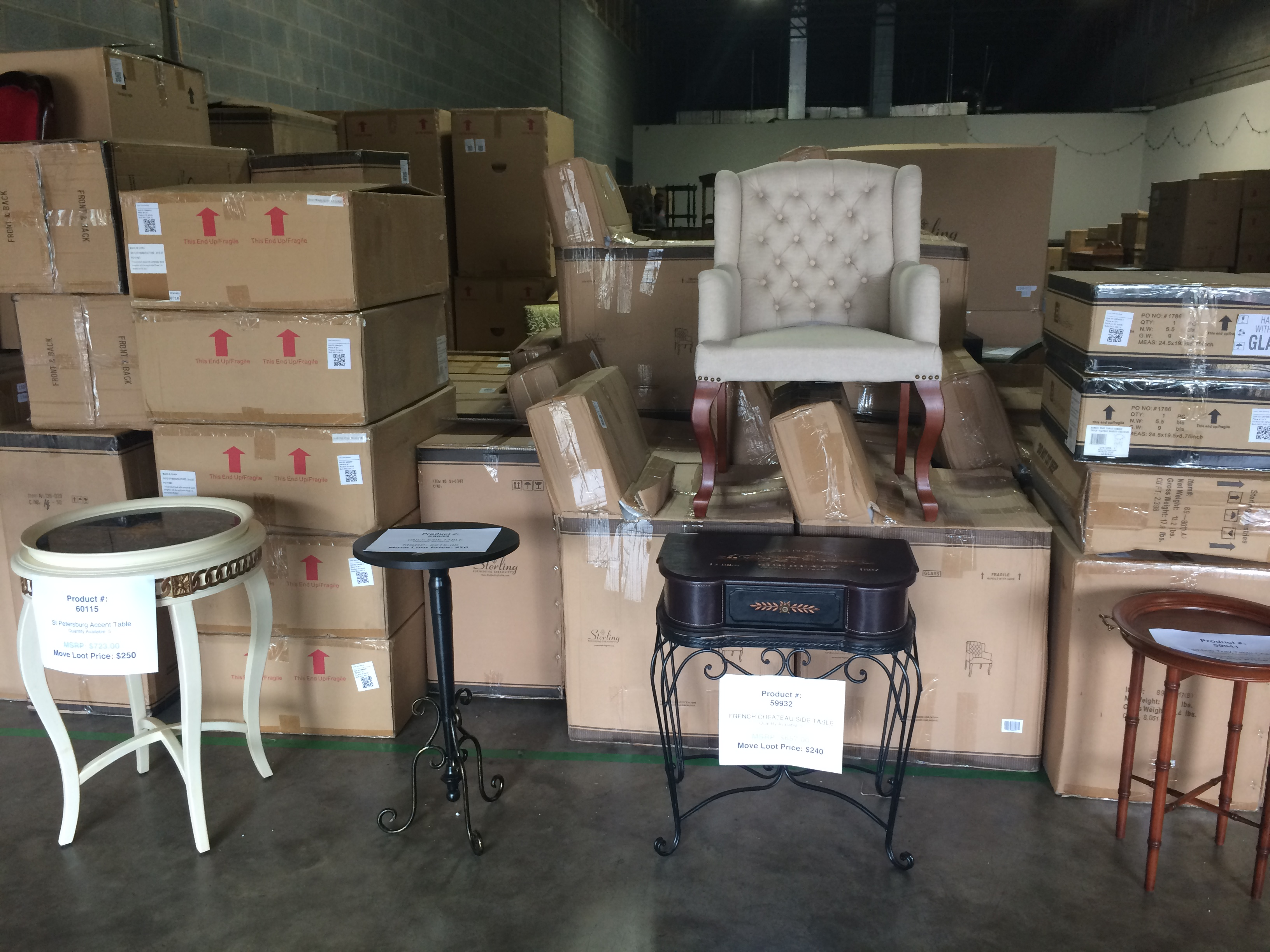 Move Loot is opening its warehouse for a huge furniture sale this weekend