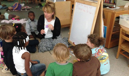 What is Montessori? It's not all peace tables and rain sticks.