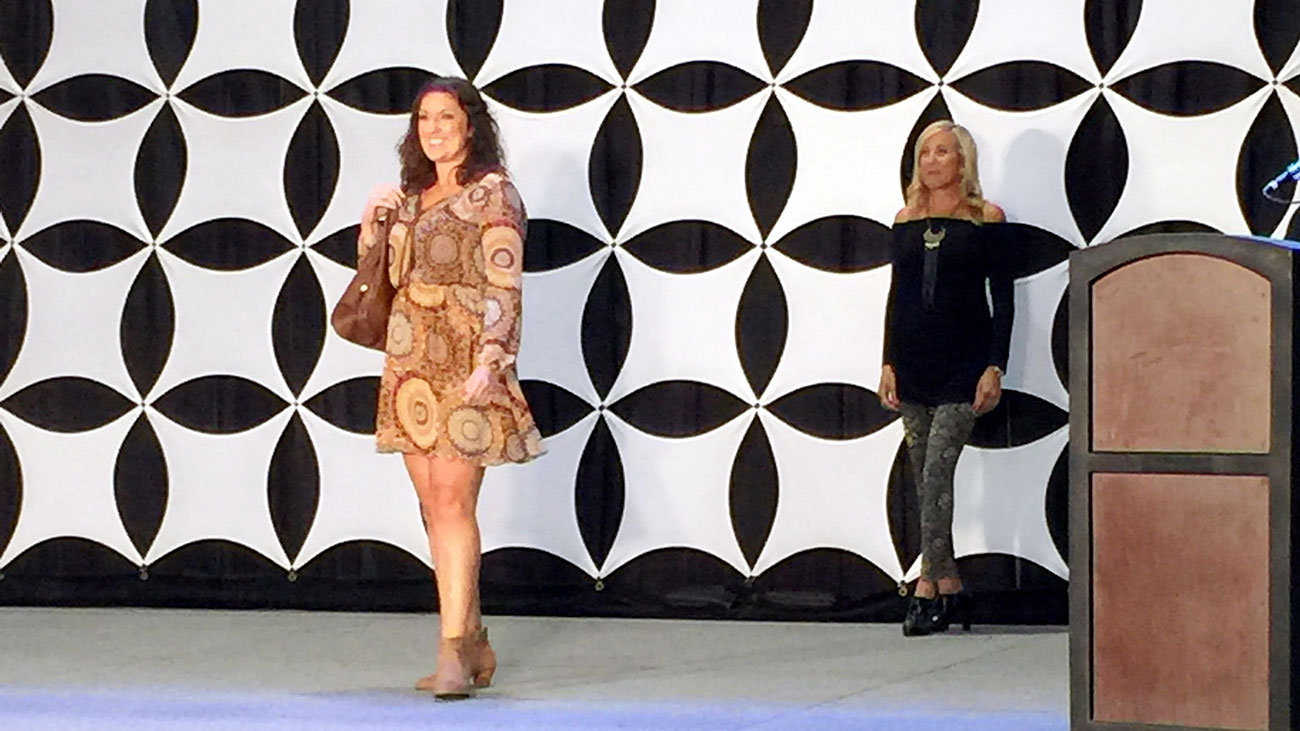 Behind the curtain: My day as a runway model