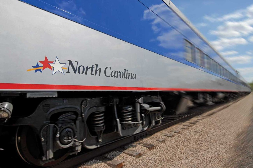 Boarding an Amtrak train uptown might one day become a reality