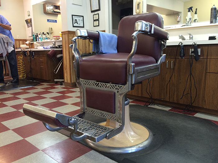 barber shop-chair