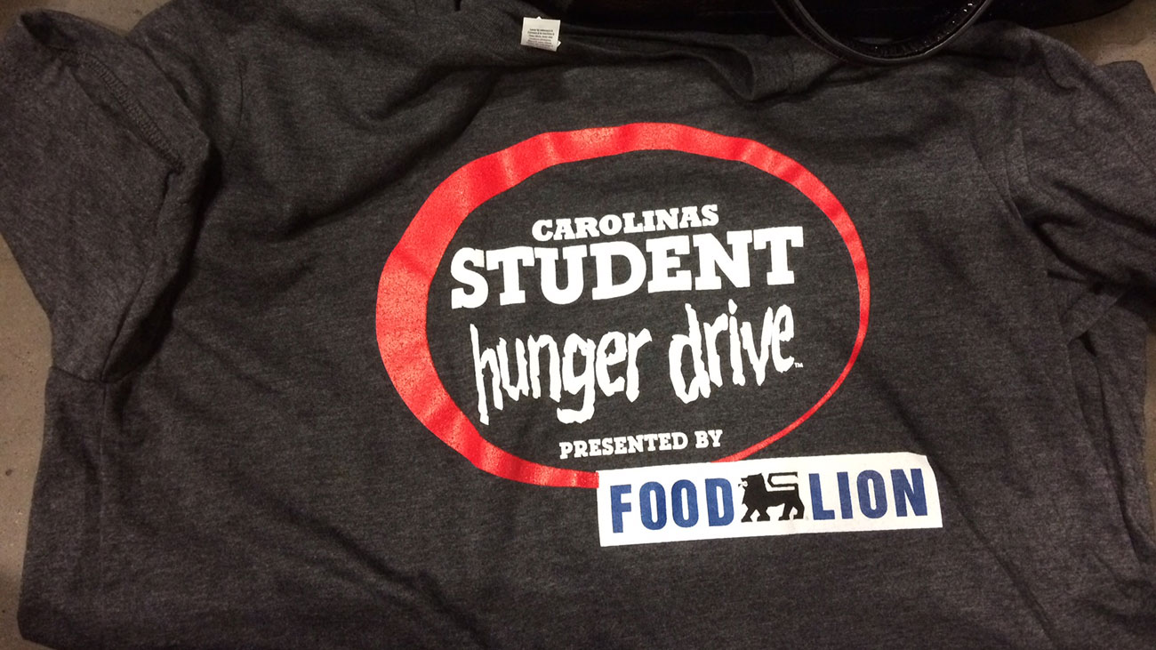 Charlotte-area students compete to collect food for the Carolinas Student Hunger Drive
