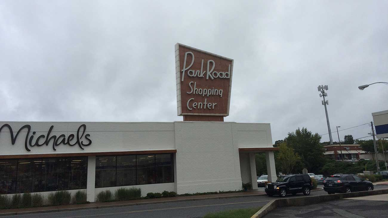 Park Road Shopping Center is hitting a huge tipping point