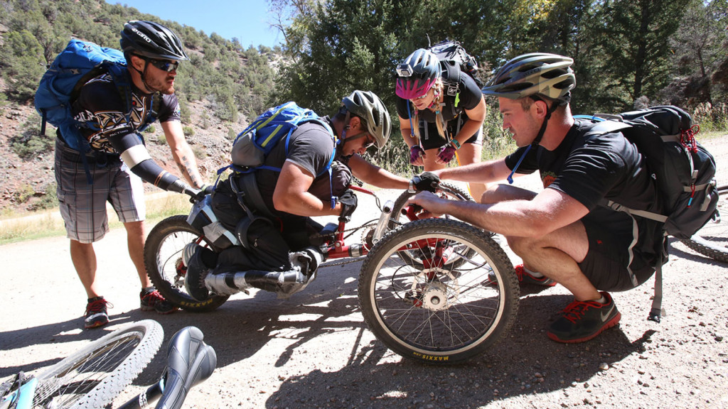 The Adventure Team Challenge is happening at the USNWC this weekend