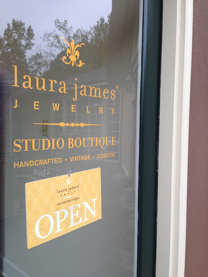 laura james jewelry entrance