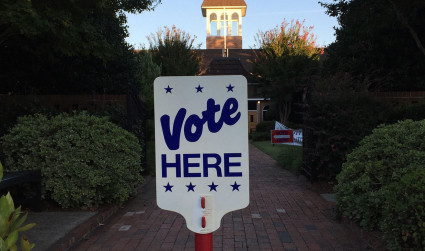 In east Charlotte, it's time to vote again already. A runoff election will be held October 10