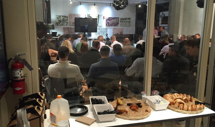 The 4 startups you missed at December's standing-room-only PitchBreakfast