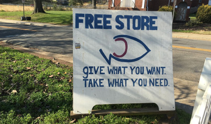 The Free Store is connecting people beyond the donations