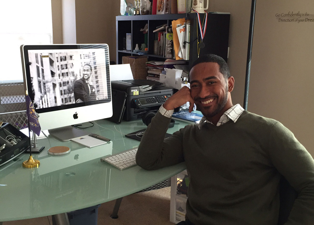 Work life of Carlos Davis, CEO of Stand & Deliver, LLC