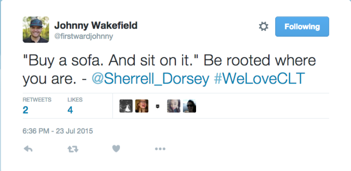 johnny wakefield sofa tweet