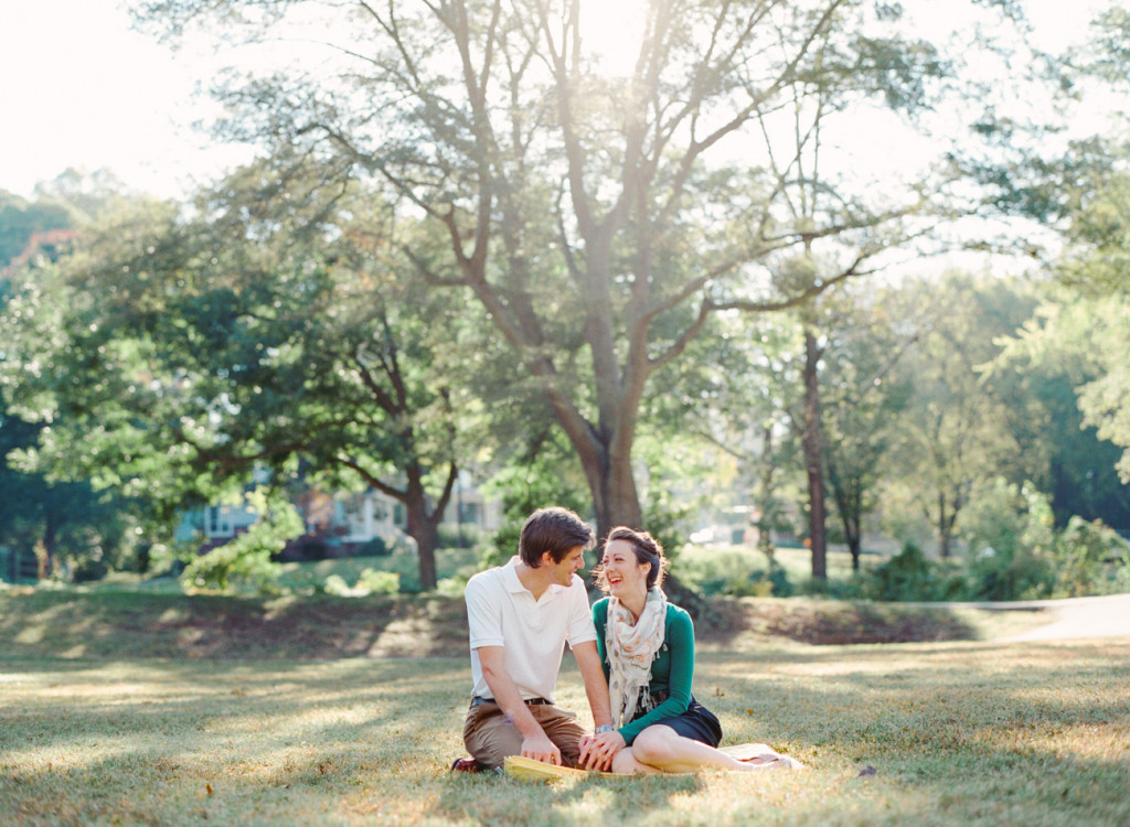 Charlotte photographers weigh in on the best locations for engagement shoots