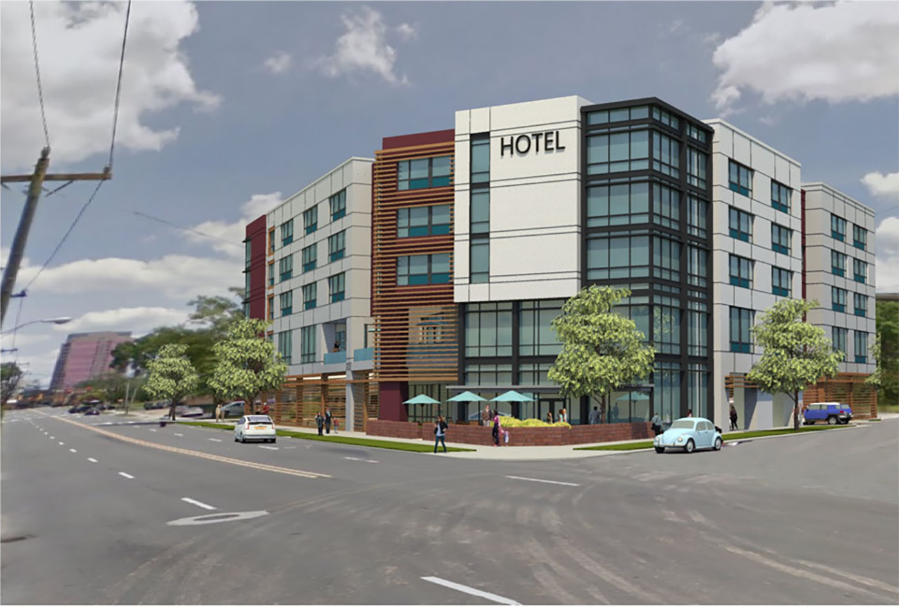 Here's a look at the plans for South End's first hotel
