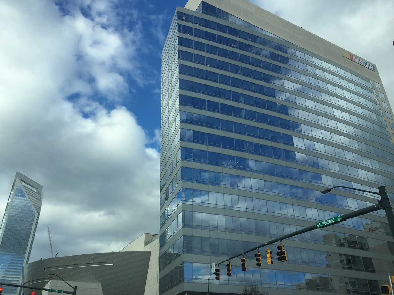 The Charlotte Observer is likely moving to NASCAR Plaza