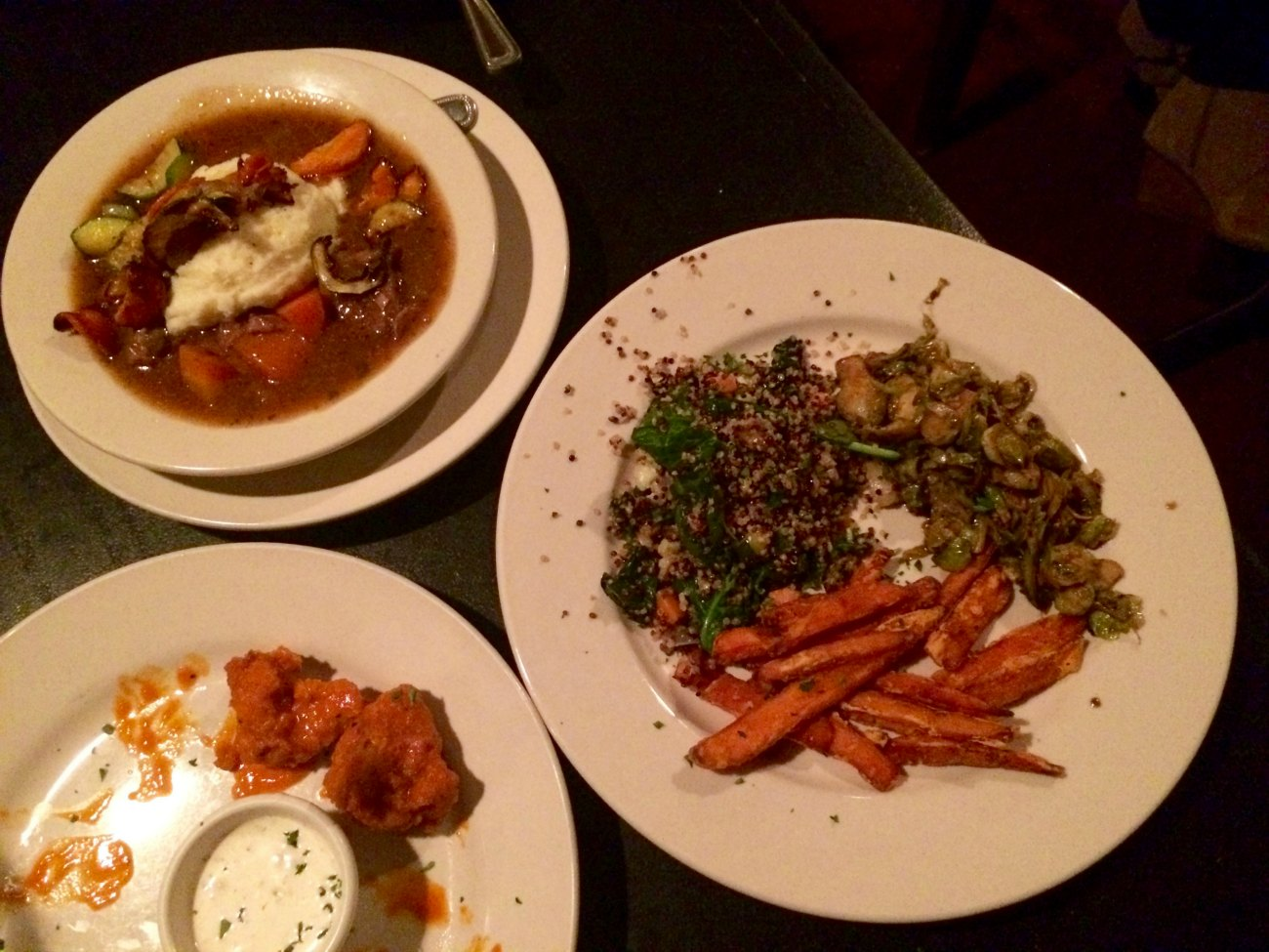 The award for best British/Irish pub with extensive vegan menu options and an unexpected Taco Tuesday goes to…