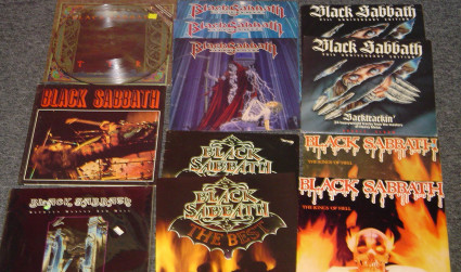 Lunchbox Records & the mega Sabbath collection