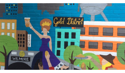 I didn't even know the Gold District existed. Now I do and the history behind it is really cool