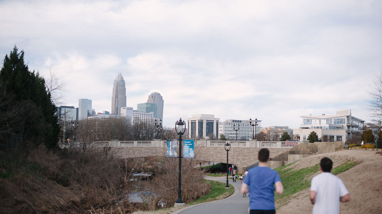 4 running/walking routes that begin and end at the Dowd YMCA