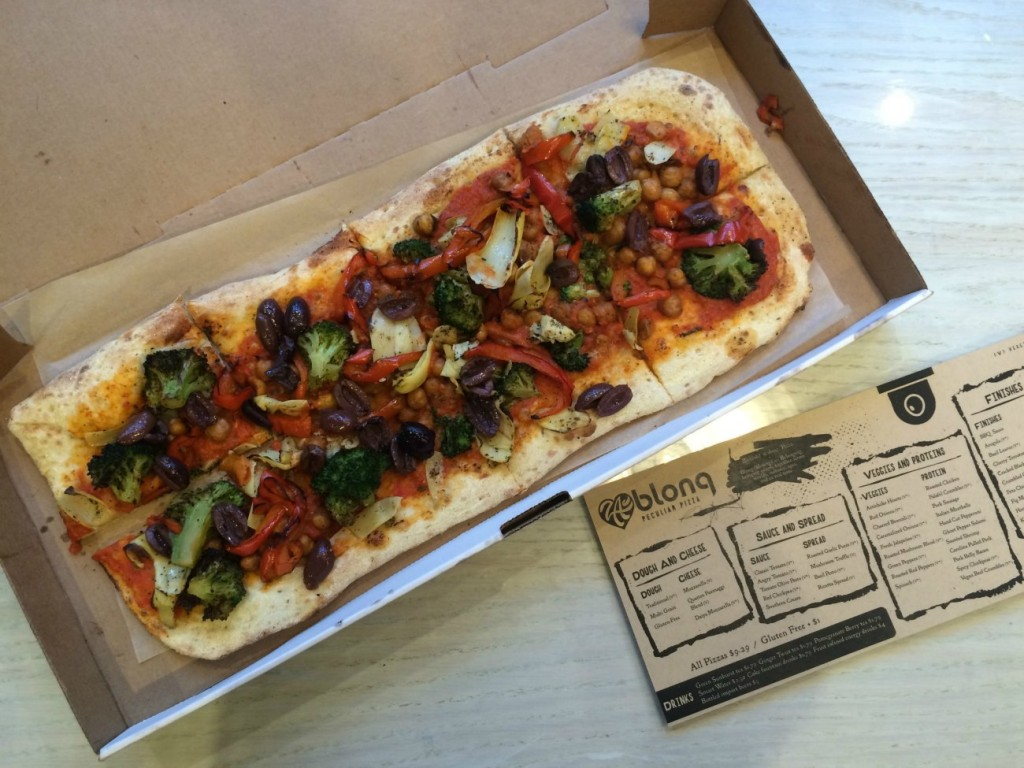 Zablong Pizza is open in Latta Arcade. Here's the deal