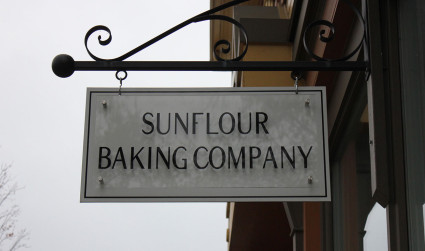 Sunflour Baking Company on East is my new favorite place for breakfast on the weekend. Here's why