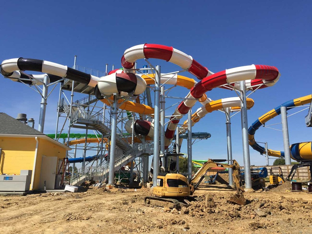 INSIDER: Check out how the new waterpark at Carowinds is coming along (18 photos)