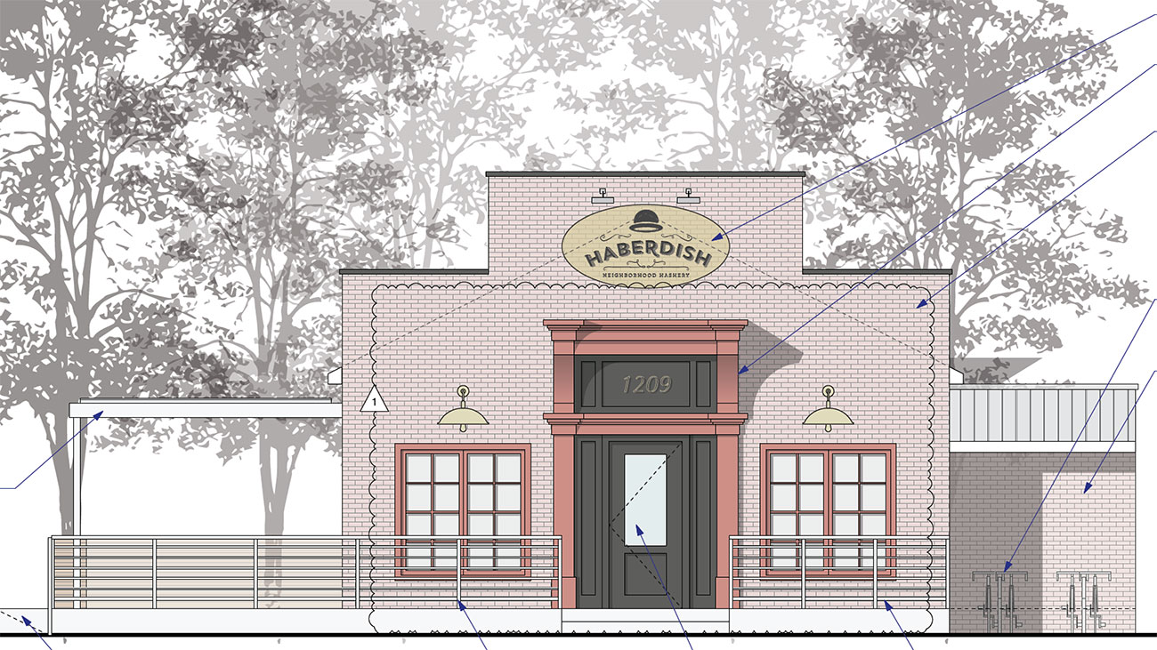 FIRST LOOK: Haberdish will turn a red warehouse into NoDa's newest restaurant