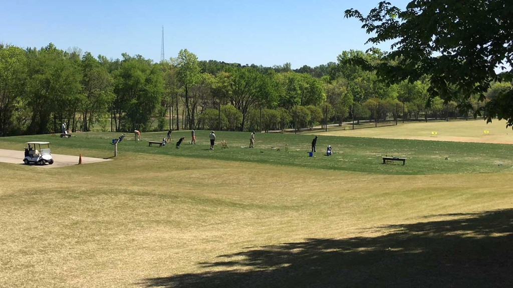 Charlotte's best golf driving range is only 2 miles from Uptown