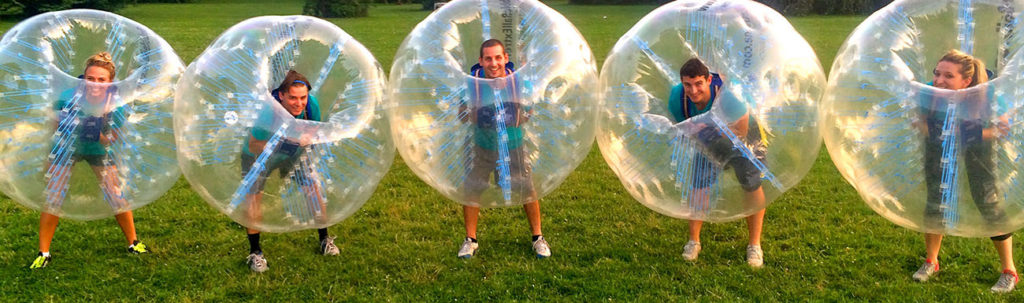 How to play Bubble Soccer in Charlotte