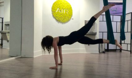 Flip your workout on its head at AIR Charlotte