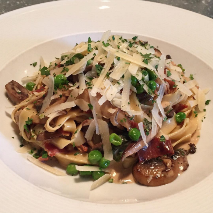 Barrington's tagliatelle. Photo via Instagram.