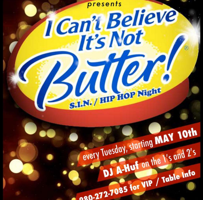 club one can't believe it's not butter
