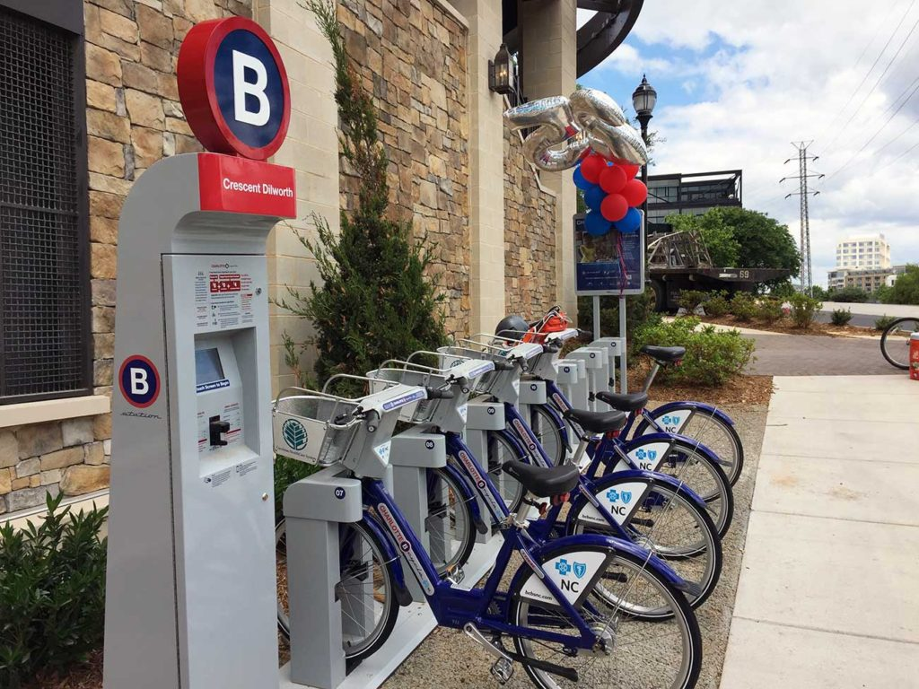 Will B-cycle stations become the new standard at Charlotte apartments?