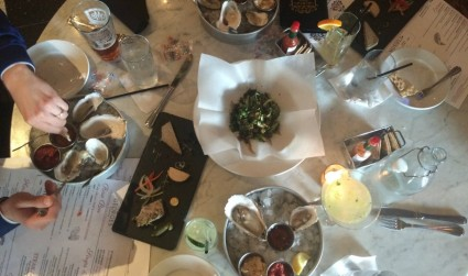 Georges Brasserie has an impressive happy hour and dinner menu. See what we tried